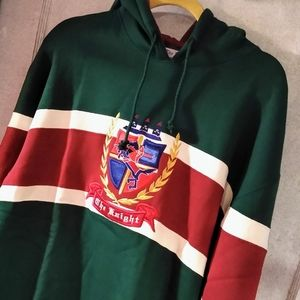 The Knight Colorblock Vintage '90s Hoodie …